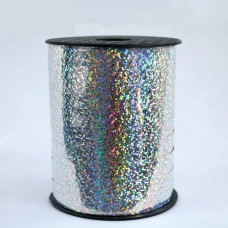 Polyband Silber Holographisch 10mm x 250m