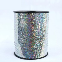 Polyband Silber Holographisch 5mm x 500m